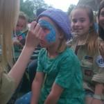 Sommerfest 2015 - Kinderschminken