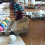 Leiteraktion: Eierfärben